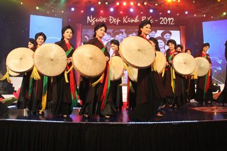 Những người đẹp Kinh Bắc trong trang phục quan họ