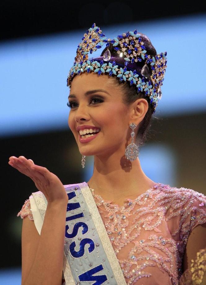 Cô gái trẻ người Philippines - Megan Young đăng quang ngôi vị Hoa Hậu Thế Giới 2013