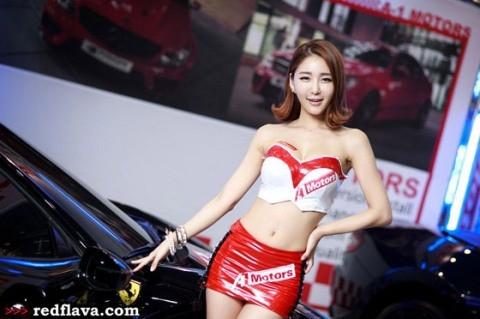 Sắc hồng quyến rũ tại triển lãm xế hộp Hàn Quốc - ảnh 5