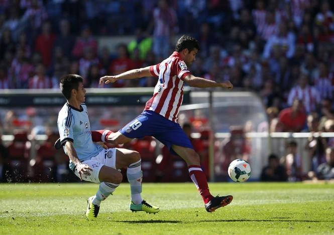 Costa của Atletico xếp thứ 2
