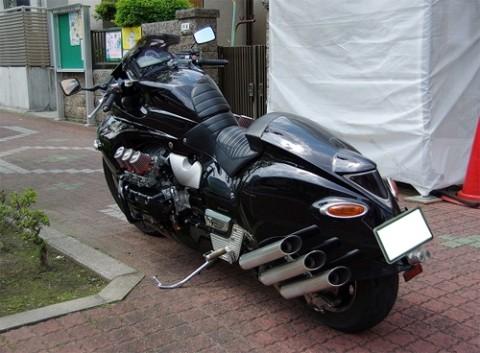 Honda Valkyrie phiên bản độ 'Vua rồng' - ảnh 6