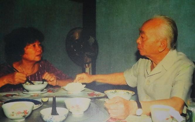 Bữa cơm thân mật của hai vợ chồng Đại tướng