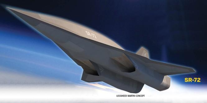 Hình mẫu dự kiến của máy bay ném bom siêu vượt âm SR-72