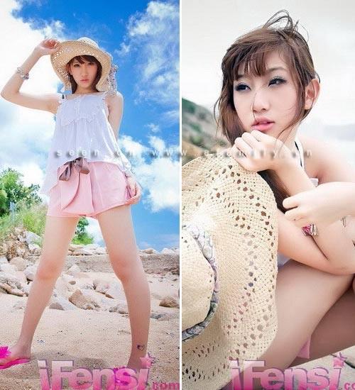 Bồ cũ Trần Quán Hy sở hữu vẻ đẹp mong manh - ảnh 4
