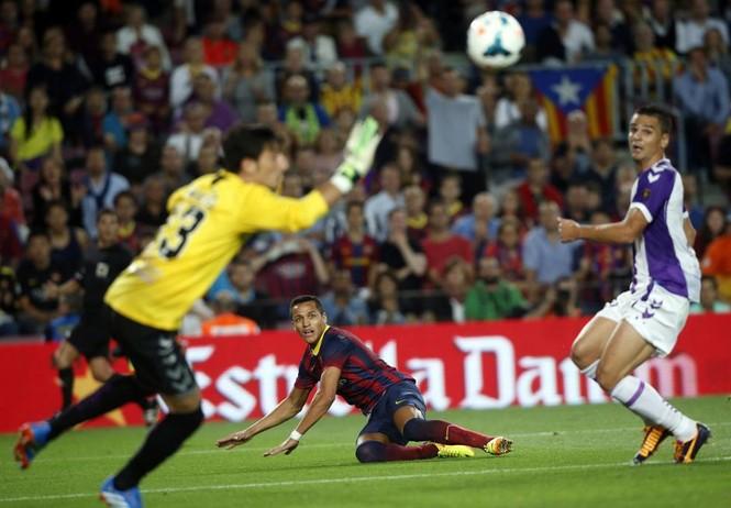Sanchez của Barca đứng thứ 6