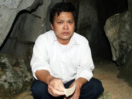 Ông Mai Thanh Đạm ở chùa Bạch Tượng cho rằng hang vàng chỉ là chuyện đồn thổi chứ không có thật