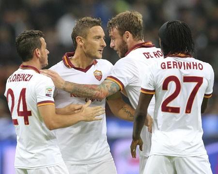 AS Roma hướng tới khoản tiền thưởng