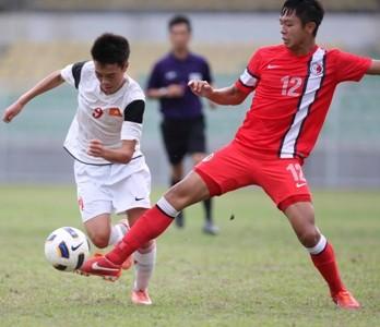 U19 Việt Nam đeo băng tang tưởng nhớ Tướng Giáp - ảnh 1