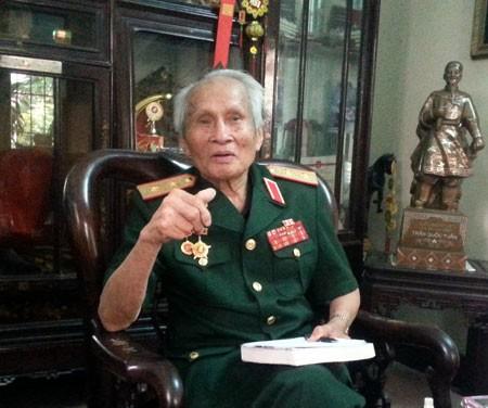 Trung tướng Nguyễn Quốc Thước.