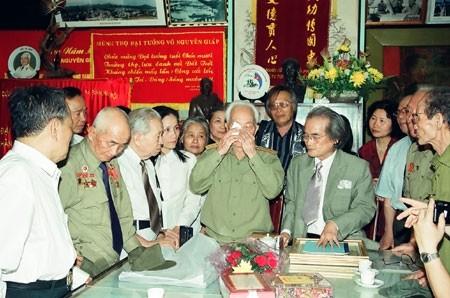 Những hình ảnh xúc động về vị 'Đại tướng của nhân dân' - ảnh 5