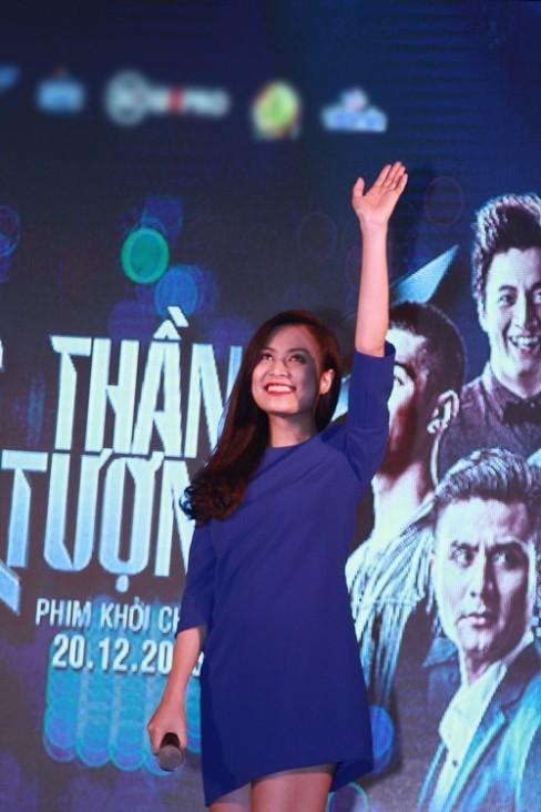 Nữ ca sĩ cũng có màn tái xuất ấn tượng với điện ảnh khi tham gia bộ phim 'Thần tượng'