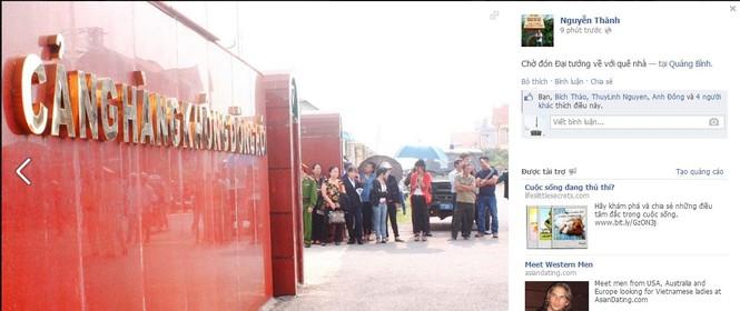 Người dân Quảng Bình đang từng giờ, từng phút chờ đợi người con của quê hương - Đại tướng Võ Nguyên Giáp trở về