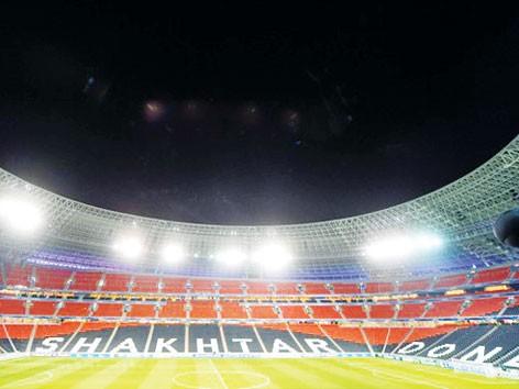 Donbass Arena có tiếng là nơi tử địa với các đội bóng Anh. Ảnh: Getty Images