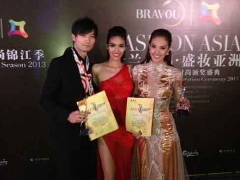 Lan Khuê vào top 5 Người mẫu thời trang châu Á - ảnh 5