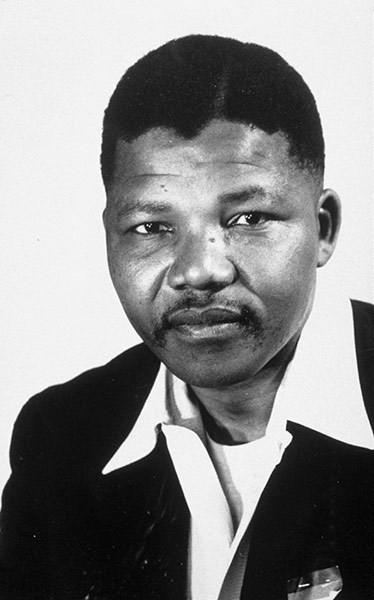 Năm 1956: Ông Mandela trong vai trò lãnh đạo của Đảng Đại hội Dân tộc Phi. (Nguồn: Rex Features)