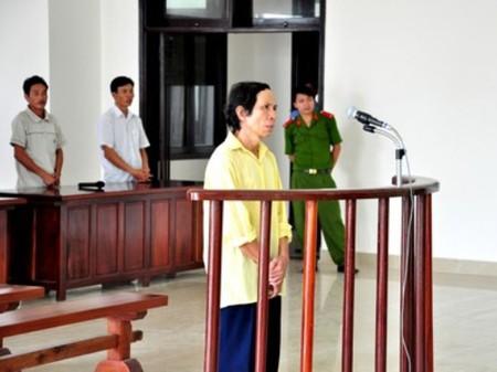 Bị cáo Nguyễn Ngọc trước Toà