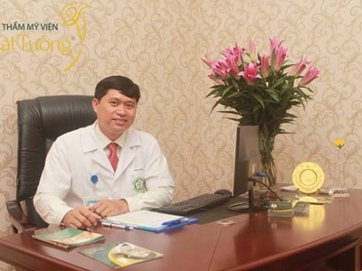 Th.Bs Nguyễn Mạnh Tường – Bác sỹ Bệnh viện Bạch Mai – Giám đốc Thẩm mỹ viện Cát Tường. (Ảnh Dân Trí)