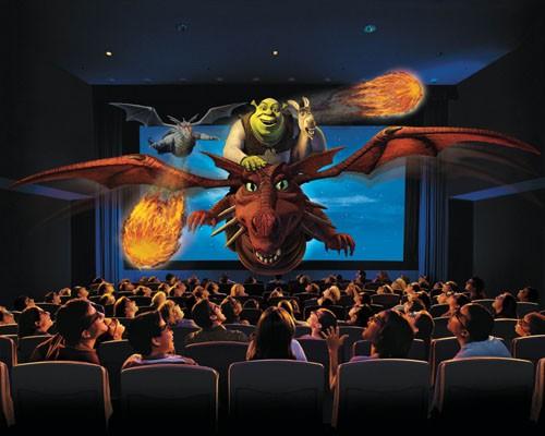 Xem phim 4D, khán giá như được tham gia vào phim
