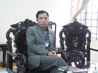 Ông Phùng Trung Hải – Chủ tịch UBND phường Hoàng Liệt (quận Hoàng Mai, Hà Nội)