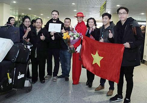 Miss Universe: Trương Thị May đã có mặt ở Moskva - ảnh 5