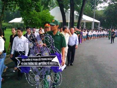 Hàng nghìn người ở TPHCM viếng Đại tướng - ảnh 8