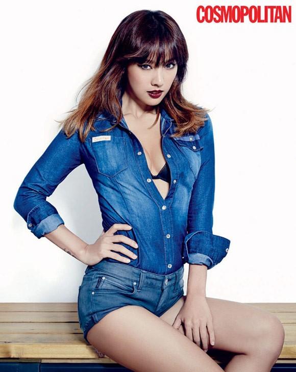 Lee Hyori trên ấn phẩm tháng 11 của tạp chí Cosmopolitan