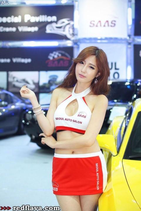 Sắc hồng quyến rũ tại triển lãm xế hộp Hàn Quốc - ảnh 8