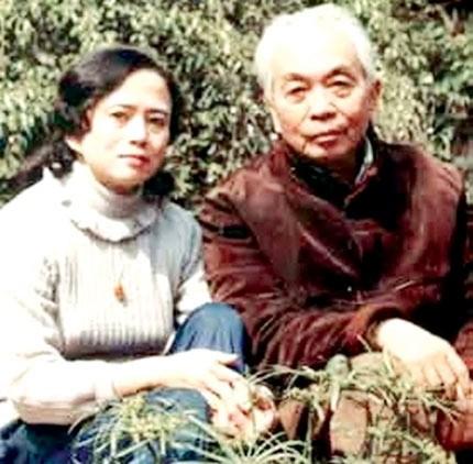 Đại tướng và con gái Võ Hồng Anh