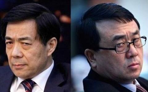 Bạc Hy Lai(trái) và Vương Lập Quân