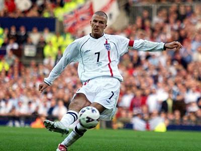 Beckham ghi bàn thắng cực đẹp vào lưới Hy Lạp ở World Cup 2002