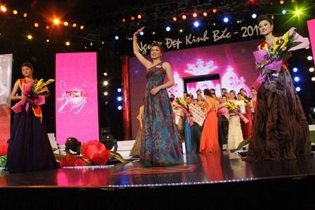 Và ngôi vị người đẹp nhất Kinh Bắc năm 2012 thuộc về Nguyễn Thị Truyền