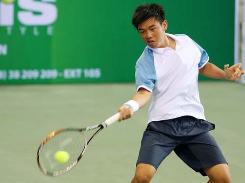 Hạ tay vợt Trung Quốc, Lý Hoàng Nam vào bán kết giải ITF trẻ - ảnh 1
