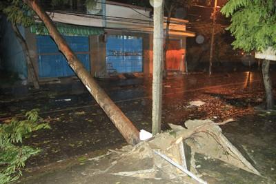 Siêu bão Nari áp sát đất liền, gió giật kinh hoàng - ảnh 5