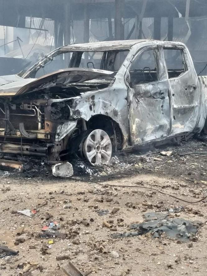 Một người Việt tử vong trong vụ cháy nổ kinh hoàng ở Lào - ảnh 7