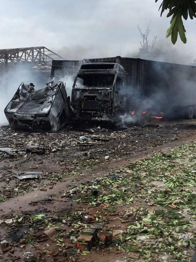 Một người Việt tử vong trong vụ cháy nổ kinh hoàng ở Lào - ảnh 3