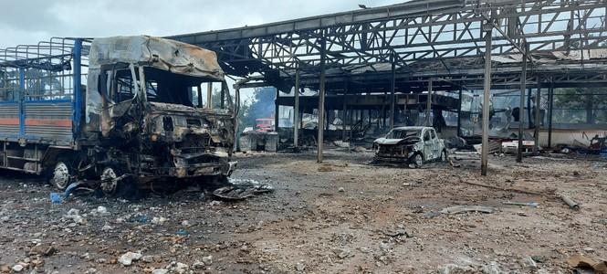 Một người Việt tử vong trong vụ cháy nổ kinh hoàng ở Lào - ảnh 2