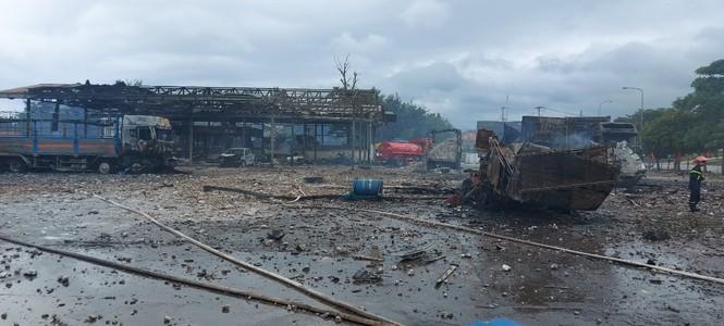 Một người Việt tử vong trong vụ cháy nổ kinh hoàng ở Lào - ảnh 4