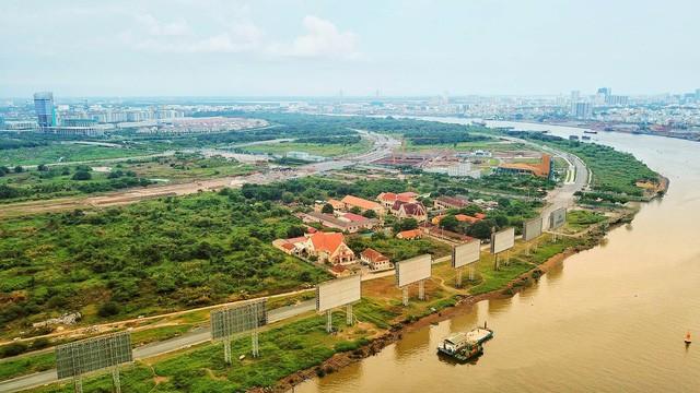 Sẽ buộc các dự án ở Thủ Thiêm nộp lại tiền trục lợi từ đất - ảnh 1