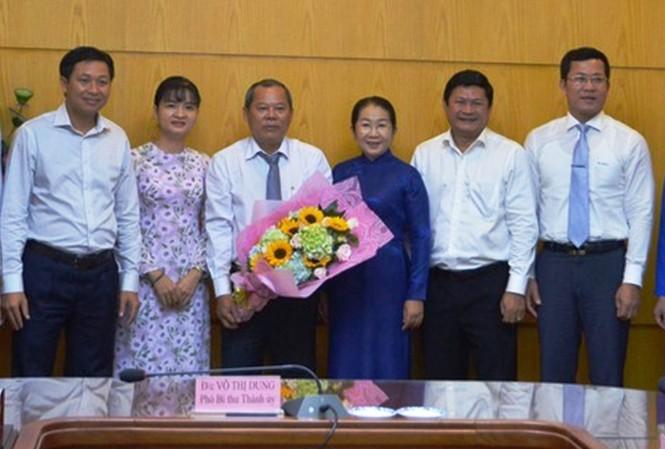 Ông Trần Văn Út giữ chức Phó Bí thư Quận ủy Quận 12 - ảnh 1