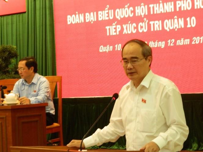 """Bí thư Thành ủy Nguyễn Thiện Nhân: """"Còn nhiều cách để bảo vệ chủ quyền…  - ảnh 2"""