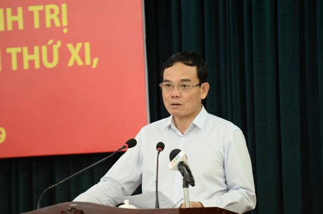 Mời nhân dân góp ý dự thảo báo cáo chính trị Đại hội Đảng bộ TPHCM - ảnh 1