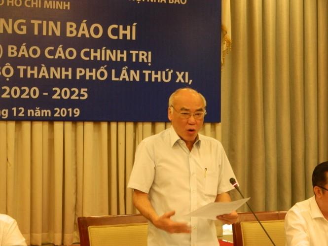 Mời nhân dân góp ý dự thảo báo cáo chính trị Đại hội Đảng bộ TPHCM - ảnh 3