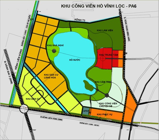 Thanh tra TPHCM 'thổi còi' quyết định dừng dự án hồ Vĩnh Lộc của UBND TPHCM - ảnh 1