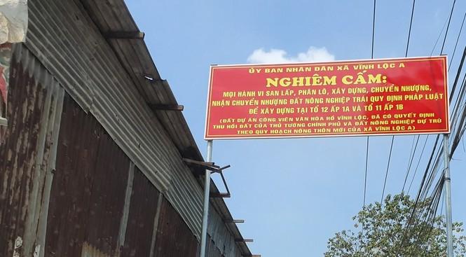 Thanh tra TPHCM 'thổi còi' quyết định dừng dự án hồ Vĩnh Lộc của UBND TPHCM - ảnh 4