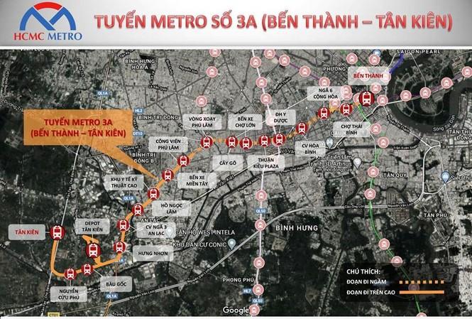 TPHCM đề xuất làm tuyến metro Bến Thành – Tân Kiên 68 nghìn tỷ đồng - ảnh 1