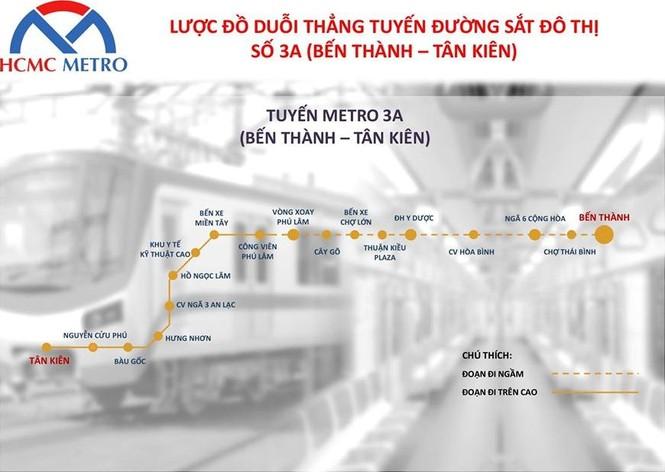 TPHCM đề xuất làm tuyến metro Bến Thành – Tân Kiên 68 nghìn tỷ đồng - ảnh 2