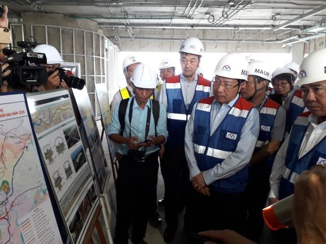 Phó Thủ tướng Phạm Bình Minh thị sát tuyến metro số 1,gỡ vướng các dự án vốn ODA - ảnh 5