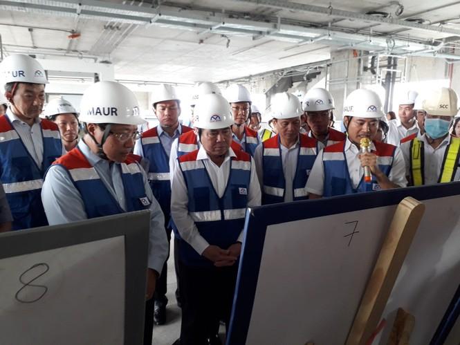 Phó Thủ tướng Phạm Bình Minh thị sát tuyến metro số 1,gỡ vướng các dự án vốn ODA - ảnh 4