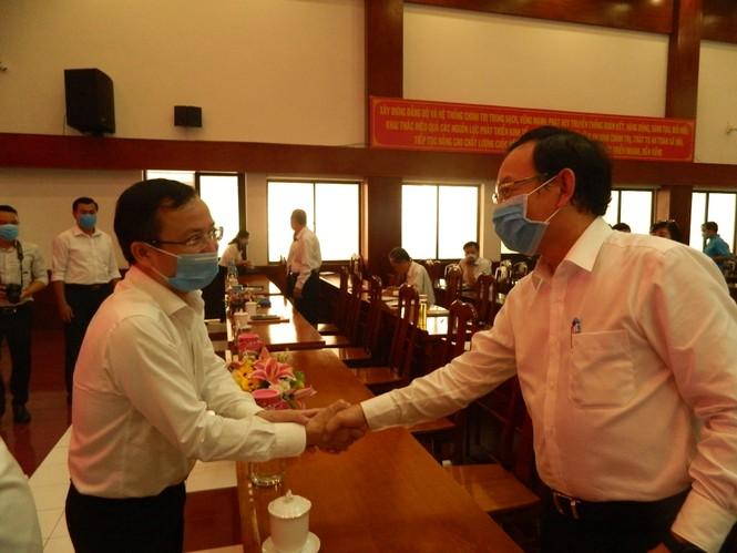 Phân công Bí thư Thành ủy TPHCM Nguyễn Văn Nên về Tổ Đại biểu Quốc hội đơn vị 4 - ảnh 1