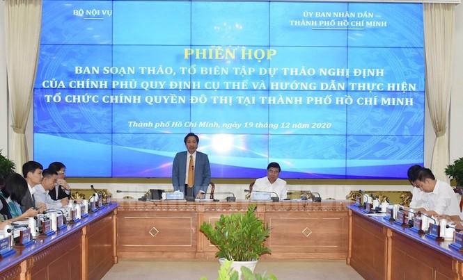 TPHCM có thể chỉ định Bí thư Thành ủy TP Thủ Đức sớm hơn dự kiến  - ảnh 1